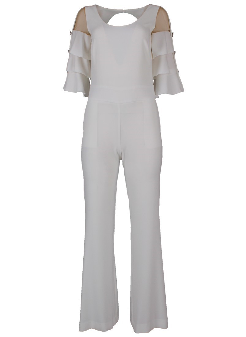 Jumpsuit with frills