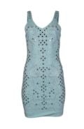 Glitzerndes enges Kleid
